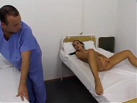 Slut patient seduces a nurse