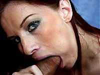 This feisty redhead knows all she needs to know about s..