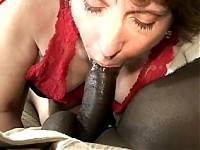 Interracial sex with a hoeny housewife