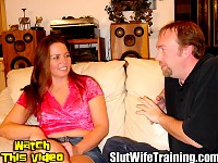 Tim sent his wife Jazz to Dirty D to improve her oral skills and put an end to her spitting his cum out. Dirty D enrolled Jazz into his patented Cum Swallowing 101 Course. Dirty D thoroughly evaluates the student body testing all of Jazzs sexual skills before making her swallow his cum.