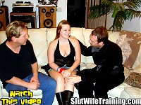 Jennas cuckold husband Vinnie brought her to Dirty D because he wanted to see her have group sex slut training with another girl. Dirty D always has sluts around so he introduces Jenna to Sharon kicking off a Fuck Fest for Vinnies viewing pleasure. As the training progresses Dirty D returns his full focus to Jennas training. While Dirty D is fucking Jennas shaved pussy Vinnies true agenda comes to light. Vinnie states how much he loves to get sloppy seconds. Dirty D gladly gives Vinnie what he wants. Dirty D finishes fucking Jenna depositing his load deep inside her wet pussy. Vinnie eagerly dives right in between Jennas legs eating her fresh Cream Pie devouring every last drop of cum.