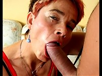 This housewife loves a good cock in her snatch
