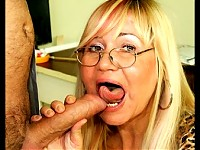 Give that big titted mature slut the cock she craves