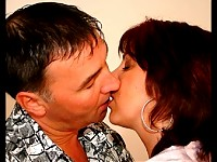 Mature couple fucking all day long