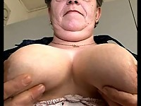 Mature amateur housewife has dildo fun