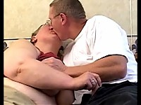 Chubby mature slut taken the cock deep in her