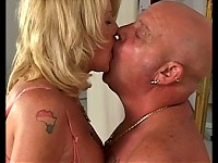 Mature couple still having fantastic sex