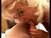 granny sucks and fucks like a horny minx