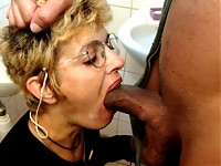 After some takeout she gets a cumface
