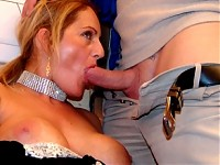 This MILF just loves to suck cock