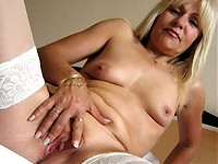 Emilia is one hot mature nympho who loves to play with ..