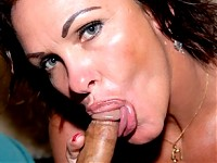 American housewife enjoying a rockhard cock