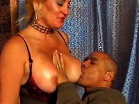 Mature whore take cock from behind