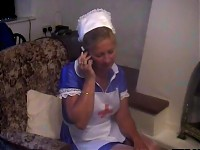 She is a good nurse and good cock sucker too