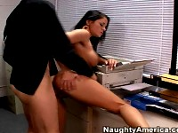 Hot secretary hardcore sex in office