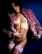 Hot erotic photos of Tania in pink stockings Picture 2