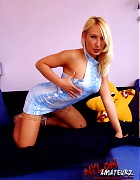Hot blonde Gina in various stockings Picture 12